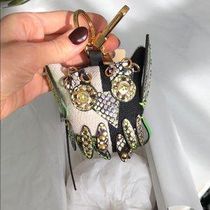 NWT Burberry owl charm/key chain
